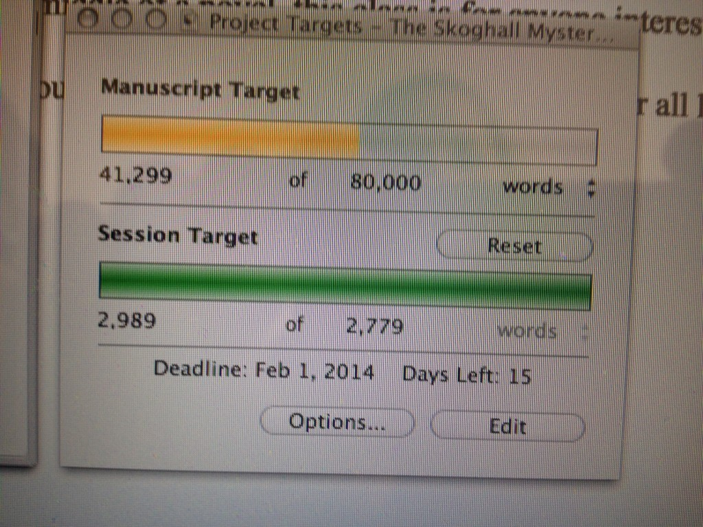 Tracking Word Count